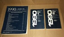 FORD 1990 FORD SHOP MANUAL  LINCOLN MARK VII   OEM