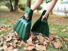 New Gardenised Pair of Large Leaf Scoops, Hand Rakes, Qi003295