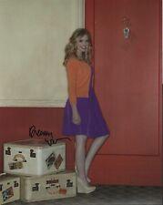 Dreama Walker actress REAL hand SIGNED Apartment 23 8x10 photo w/ COA