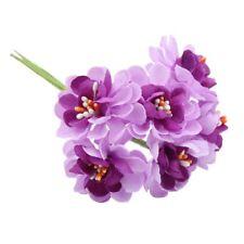 Clavel Flores Artificiales de Seda Floral Falso Ramo Decoración para el Hogar