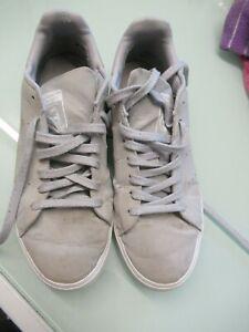 Mens adidas stan smith grey trainers, size 7.