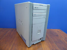 Sony Vaio Pcv-Rx450 Pc Vintage Tower Amd Athlon 1333Mhz 1Gb 120Gb Free Fedex