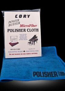 "Cory Piano Polisher Cloth, 14""x14"", Power Buffer, Microfiber, New, Fast Shipping"