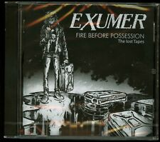 Exumer Fire Before Possession: The Lost Tapes CD new