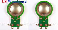 2PCS Diaphragm For Mackie-Tapco-THUMP T for (TH15A & 12A) DC10  US WAREHOUSE