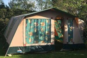 Cabanon Aruba 6 Berth Frame Tent Vintage Canvas Spacious