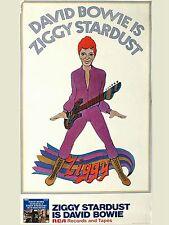 "David Bowie Ziggy 16"" x 12"" Photo Repro Promo Poster"