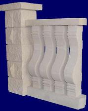 Balustraden Baluster Geländer Zäune Balkon Zaun Säulen Gartenzaun Mauersteine