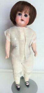 """HERM STEINER Cute 8.5"""" Antique Bisque doll marked 15/0"""