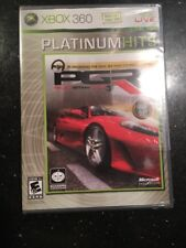Project Gotham Racing 3 Platinum Hits XBOX 360 Brand New Factory Sealed