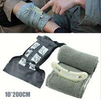 "4"" Israeli Trauma Bandage Emergency Dressing First Aid Compression Bandage Tool"