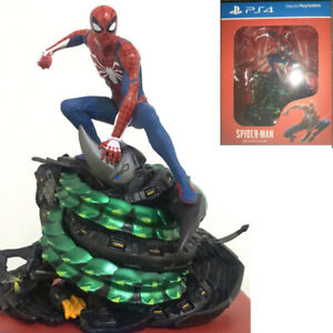 Marvel Spider-Man PS4 Collectors Edition Statue Figure Model Limit IN Box New