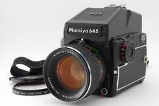 NEAR MINT+ Mamiya M645 1000S with Sekor C 80mm F/1.9 , AE Finder from JAPAN 1008