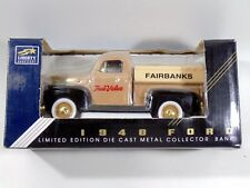"""1948 Ford Truck """"True Value Fairbanks"""" Truck Limited Edition Metal Collector Ban"""