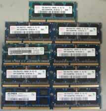 lot of 9 assorted 2GB  2Rx8 PC3- 10600S laptop memory  <