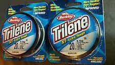 20lb Berkley trilene xt 2 spools clear monofilement line