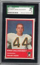 1963 Fleer Football Card #64 Robert Dougherty-Oakland Raiders-SCG 88