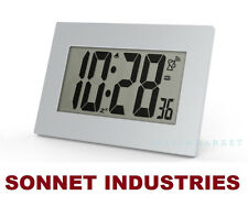 "SUPER LARGE 3.5"" LCD NUMBER ATOMIC ALARM CLOCK"