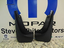 14-19 Jeep Cherokee New Splash Guards Black Front Set of 2 Mopar Factory Oem