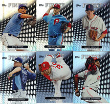 "2013  TOPPS  ""FINEST""  REFRACTOR    PIC  YOUR OWN 10 CARD LOT"