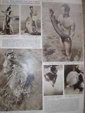 Photo article Marcel Isy-Schwart underwater fish hunter 1954