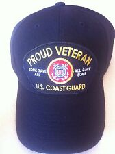 U.S. COAST GUARD PROUD VETERAN SOME GAVE ALL, ALL GAVE SOME Military Ball Cap