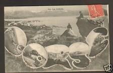 AJACCIO VILLAS vues du ROCHER / SOUVENIR DE CORSE 1906