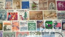 Canada 100 different stamps