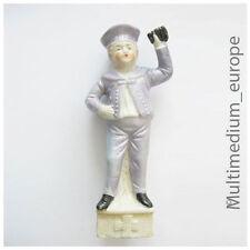 Bisquit Porzellan Figur Kind Matrose mit Fernglas Kreuz 7978