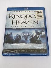 Kingdom of Heaven (Blu-ray Disc, 2009, Directors Cut) NEW - Ships FREE In BOX!