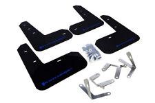 Rally Armor Black UR Mud Flaps w/ Blue Logo for 2013+ Subaru BRZ and Scion FR-S