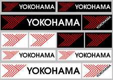 YOKOHAMA Stickers/Decals - 12 High Quality Printed and Cut Stickers