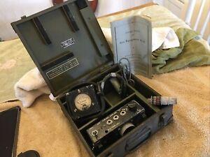 Military Radio WW2 WWII Test Set IE-36 SCR-522 SCR-542