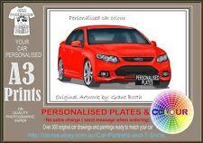 2011-14 FG MK2 FALCON A3 ORIGINAL PERSONALISED PRINT POSTER CLASSIC RETRO CAR