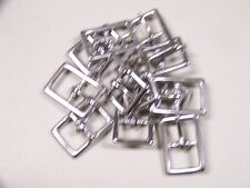 Leather Craft Buckle #121 Stainless Steel Buckle Style # 00121-SS-3/4 Qty of 12