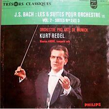 ++KURT REDEL/MAURICE ANDRÉ/PRO ARTE DE MUNICH suites orchestre 2/3 BACH LP EX++