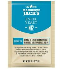 Mangrove Jack's M12 Kveik Craft Series Yeast for Farmhouse Ales & IPA 10G / 23L