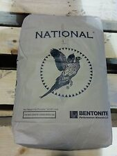 50 lb Bag Western Bentonite Clay Powder, Sodium type , (Clay of 1000 uses) Gray