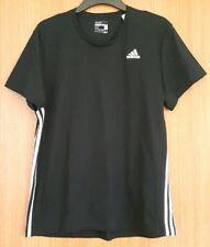 Adidas Sport Essentials T-Shirt Black & White Sz M