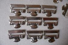 Antique/Vintage Stocking/Hosiery Clips or Suspenders. Metal (9)