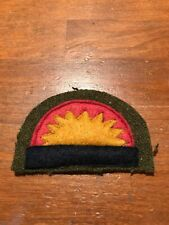 WWI  US Army 41st Division  patch wool