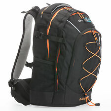 SKANDIKA PADDINGTON 30L SAC A DOS RANDO MARCHE ECOLE NOIR ORANGE NEUF