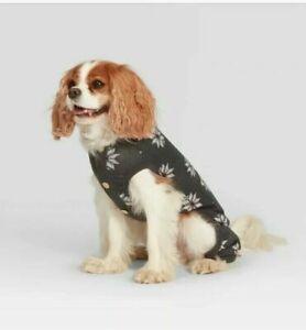 Joanna Gains Magnolia - Dog/Pet Grey Fair Isle Holiday Pajamas Medium