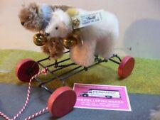 ST 197 Steiff Galloping Teddy zuggespann 1926 Replica 400926