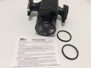 NEW Taco 007-F5 CI Circulator Pump 1/25 HP Hot Water Black