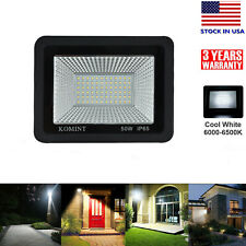 Led Flood Lights 50W Floodlights Outdoor Yard Garden Security Lamp Cool White