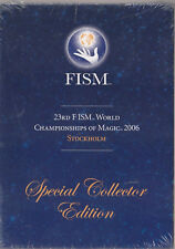 23rd Fism World Championships of Magic 2006 Stockholm Collector Ed Sealed
