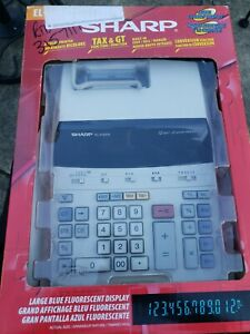 Sharp el-2192rii Electronic Printing tax Calculator