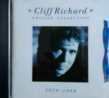 """CLIFF RICHARD      """"PRIVATE COLLECTION  1979 - 1988""""     EMI    CD"""