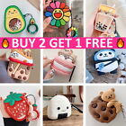 For Apple AirPods 1/2 Cute 3D Cartoon Soft Silicone Case Cover Skin Protective